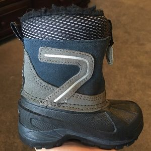 Snow boots - leather upper S5
